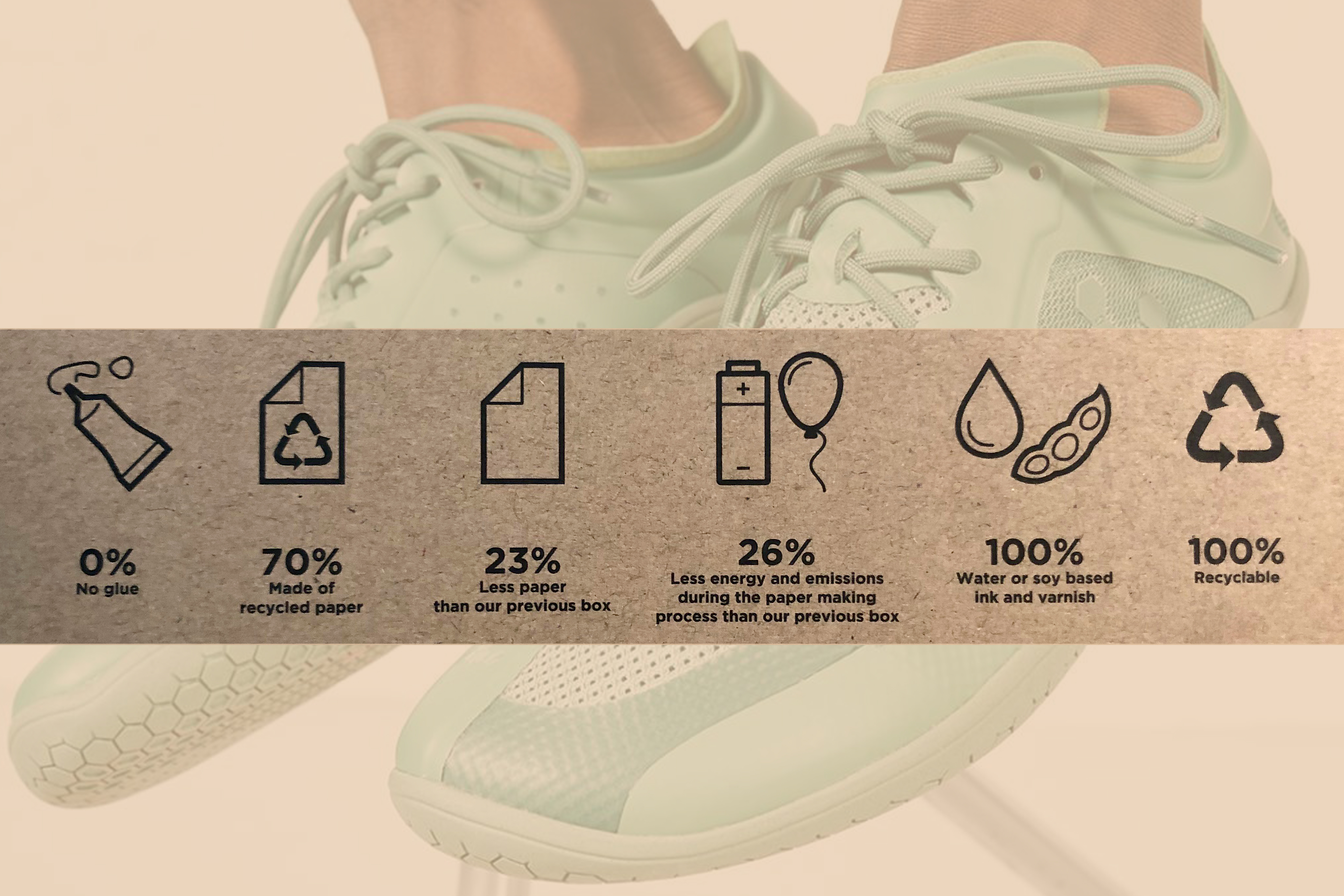 Sustainable Packaging for VIVOBAREFOOT